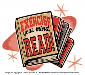 Exercise your Mind. Read!