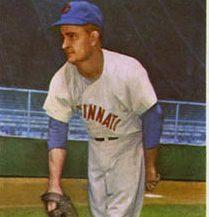 Baseball player on a baseball field