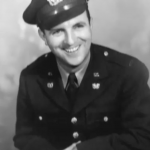 Man in a military uniform, smiling